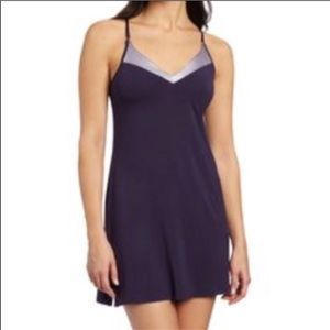 Calvin Klein Purple soft sleep chemise size S